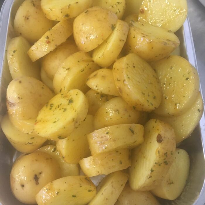 Ginger Chilli Potato